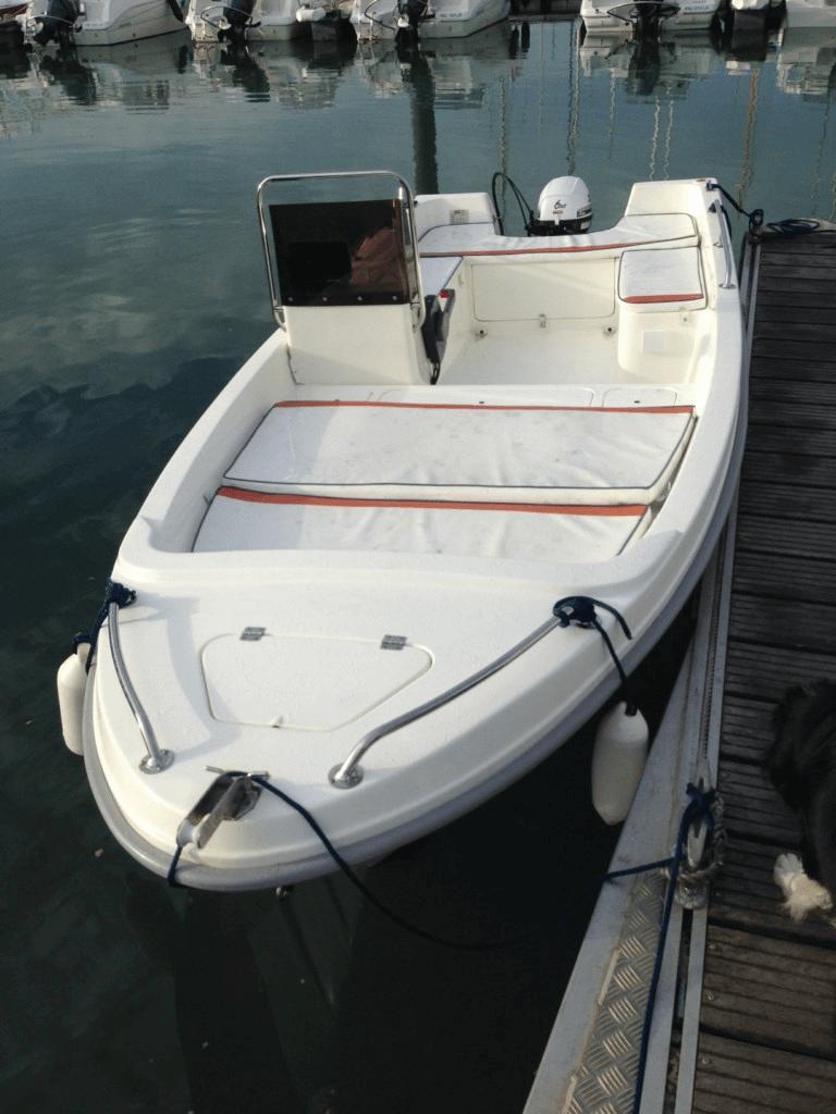 location bateau open t 4 8 sans permis selva bateau moteur louer port des minimes. Black Bedroom Furniture Sets. Home Design Ideas