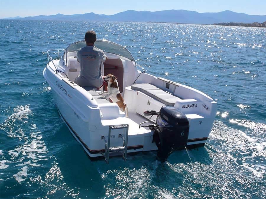 Photo du bateau à moteur B2 Marine CAP-FERRET 452 Open